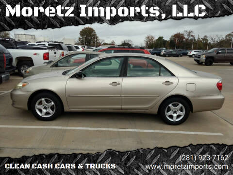 2006 Toyota Camry for sale at Moretz Imports, LLC in Spring TX