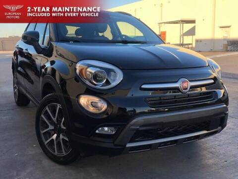 2018 FIAT 500X for sale at European Motors Inc in Plano TX