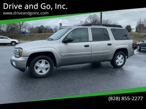 2003 Chevrolet TrailBlazer for sale at Drive and Go, Inc. in Hickory NC