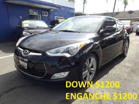 2013 Hyundai Veloster for sale at PACIFICO AUTO SALES in Santa Ana CA