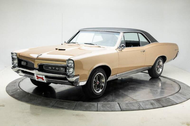 1967 Pontiac GTO for sale at Duffy's Classic Cars in Cedar Rapids IA