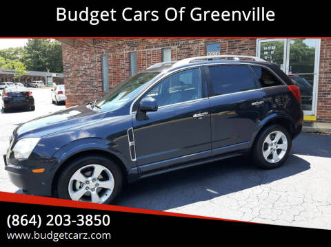 2014 Chevrolet Captiva Sport for sale at Budget Cars Of Greenville in Greenville SC