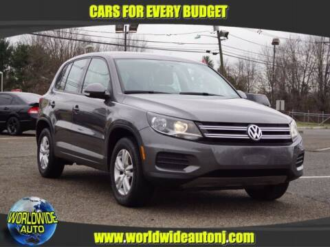 2013 Volkswagen Tiguan for sale at Worldwide Auto in Hamilton NJ
