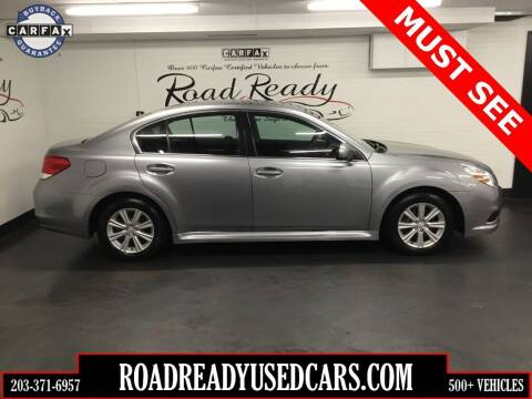 2011 Subaru Legacy for sale at Road Ready Used Cars in Ansonia CT