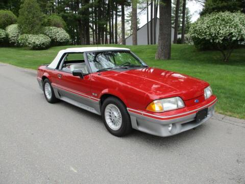 1989 Ford Mustang for sale at Classic Motor Sports in Merrimack NH