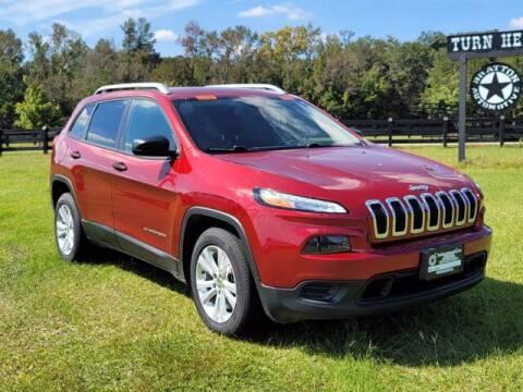 2015 Jeep Cherokee for sale at Bratton Automotive Inc in Phenix City AL