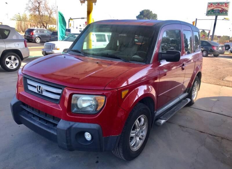 2007 Honda Element for sale at Fiesta Motors Inc in Las Cruces NM