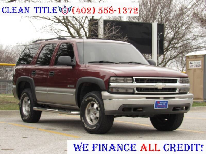 2000 Chevrolet Tahoe for sale at NY AUTO SALES in Omaha NE