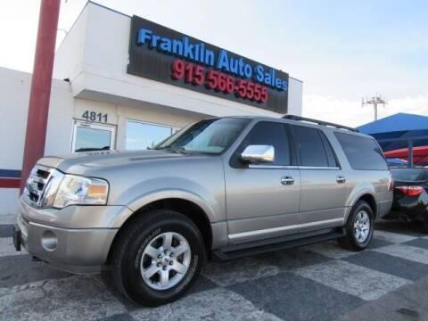 2009 Ford Expedition EL for sale at Franklin Auto Sales in El Paso TX