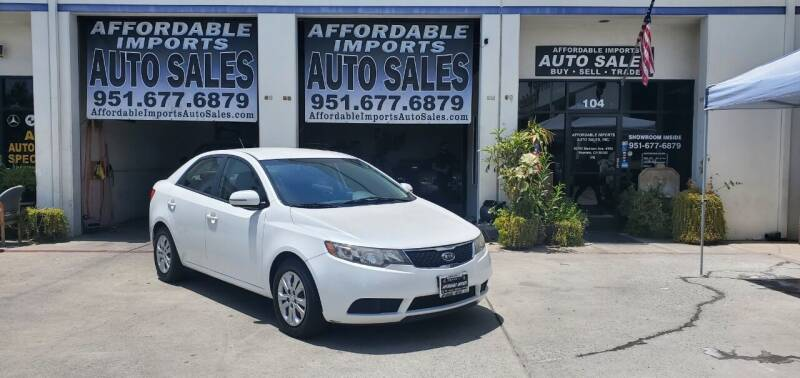 2012 Kia Forte for sale at Affordable Imports Auto Sales in Murrieta CA