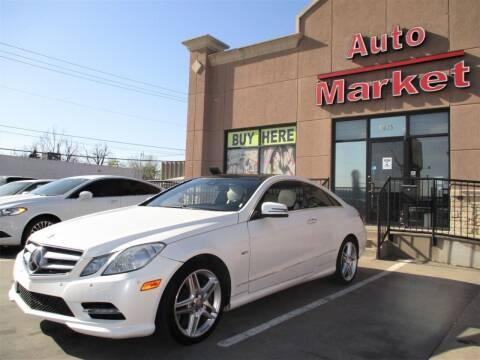 2012 Mercedes-Benz E-Class for sale at Auto Market in Oklahoma City OK