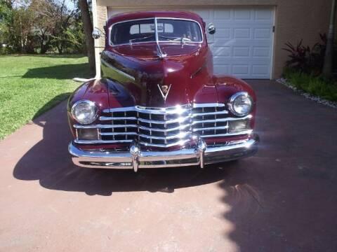 1948 Cadillac Fleetwood for sale at Classic Car Deals in Cadillac MI