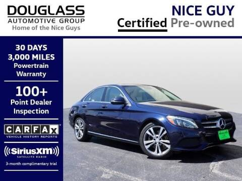 2017 Mercedes-Benz C-Class for sale at Douglass Automotive Group - Douglas Volkswagen in Bryan TX