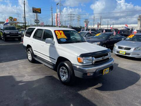 2002 Toyota 4Runner for sale at Texas 1 Auto Finance in Kemah TX