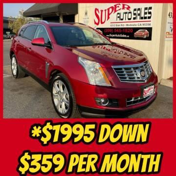 2014 Cadillac SRX for sale at Super Auto Sales Modesto in Modesto CA