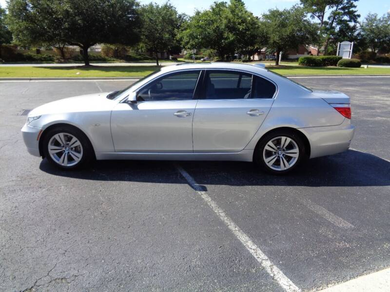 2010 BMW 5 Series for sale at BALKCUM AUTO INC in Wilmington NC