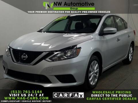 2018 Nissan Sentra for sale at NW Automotive Group in Cincinnati OH
