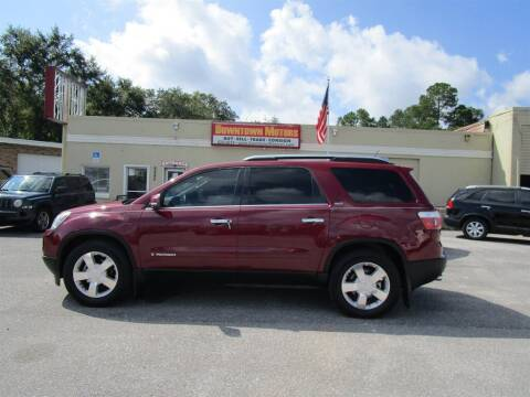 2008 GMC Acadia for sale at DERIK HARE in Milton FL