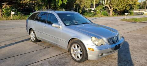 2002 Mercedes-Benz C-Class for sale at G&J Car Sales in Houston TX