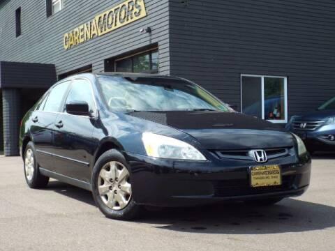 2003 Honda Accord for sale at Carena Motors in Twinsburg OH