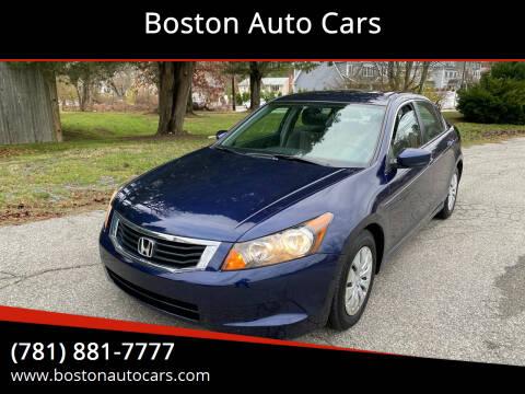 2009 Honda Accord for sale at Boston Auto Cars in Dedham MA