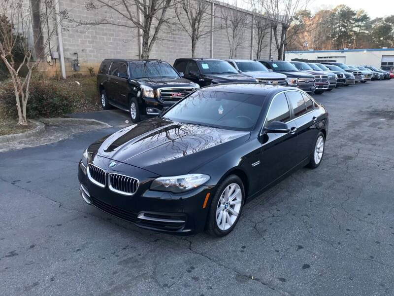 2014 BMW 5 Series for sale at Five Brothers Auto Sales in Roswell GA