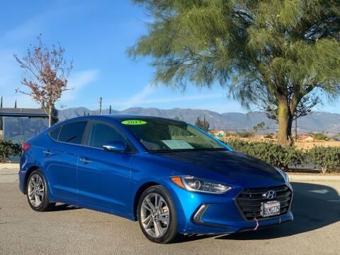 2017 Hyundai Elantra for sale at Esquivel Auto Depot in Rialto CA