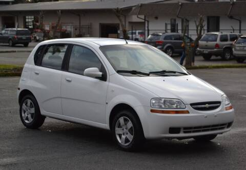 2008 Chevrolet Aveo for sale at Skyline Motors Auto Sales in Tacoma WA