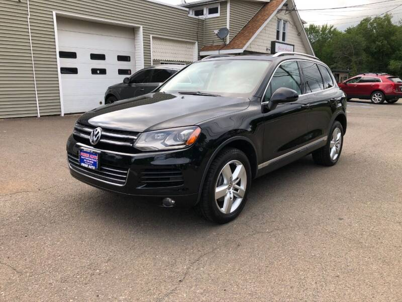 2012 Volkswagen Touareg for sale at Prime Auto LLC in Bethany CT