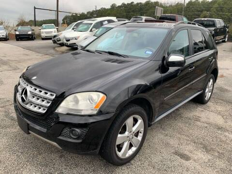 2009 Mercedes-Benz M-Class for sale at Philip Motors Inc in Snellville GA