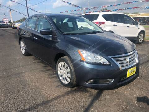 2014 Nissan Sentra for sale at Rock Motors LLC in Victoria TX