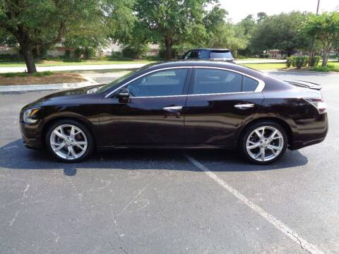 2012 Nissan Maxima for sale at BALKCUM AUTO INC in Wilmington NC