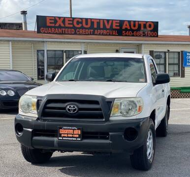 2007 Toyota Tacoma for sale at Executive Auto in Winchester VA