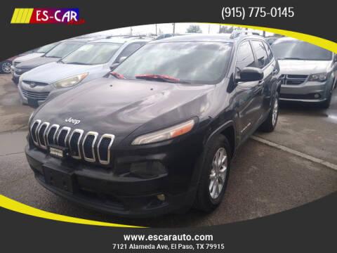 2014 Jeep Cherokee for sale at Escar Auto in El Paso TX