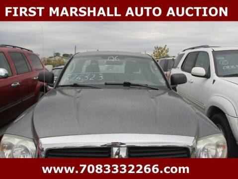 2006 Dodge Dakota for sale at First Marshall Auto Auction in Harvey IL