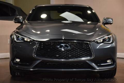 2017 Infiniti Q60 for sale at Tampa Bay AutoNetwork in Tampa FL