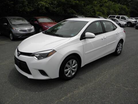 2015 Toyota Corolla for sale at Dream Auto Group in Dumfries VA