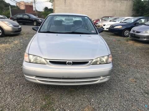 1999 Toyota Corolla for sale at A & B Auto Finance Company in Alexandria VA