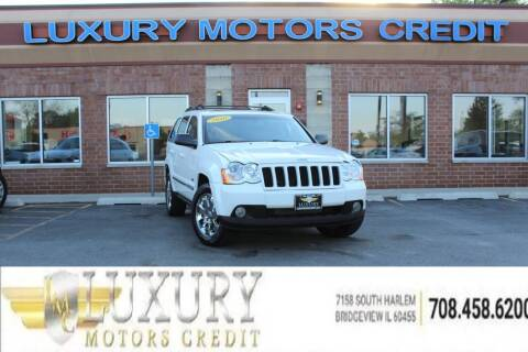 2010 Jeep Grand Cherokee for sale at Luxury Motors Credit Inc in Bridgeview IL