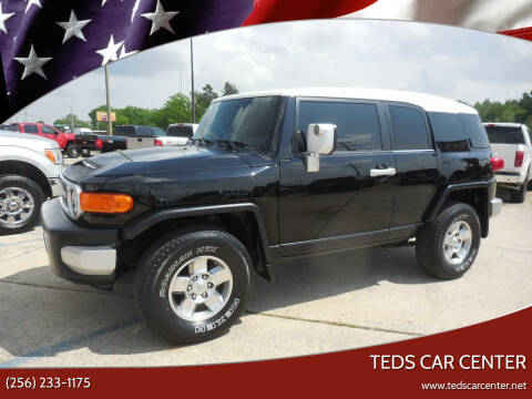 2008 Toyota FJ Cruiser for sale at TEDS CAR CENTER in Athens AL