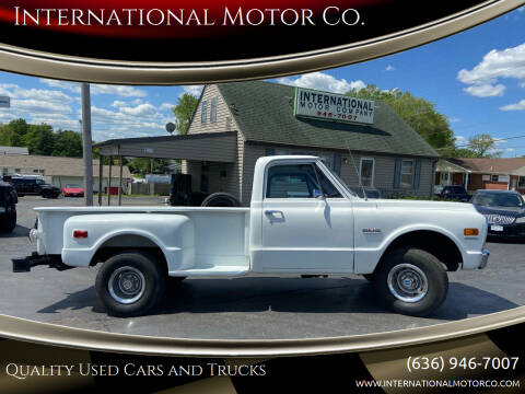 1970 GMC K1500 4-WHEEL DRIVE for sale at International Motor Co. in St. Charles MO