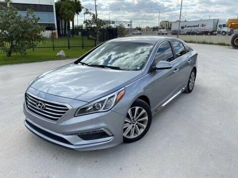 2017 Hyundai Sonata for sale at Auto Credit & Finance Corp. in Miami FL