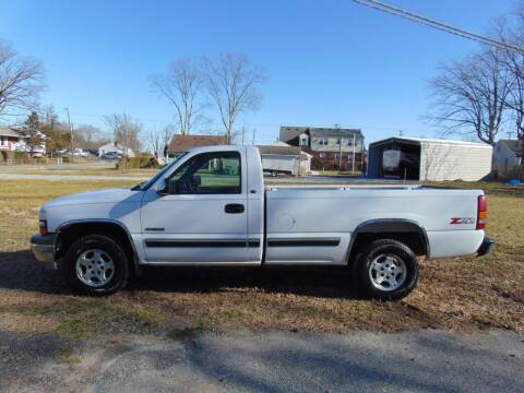 2000 Chevrolet Silverado 1500 for sale at CR Garland Auto Sales in Fredericksburg VA