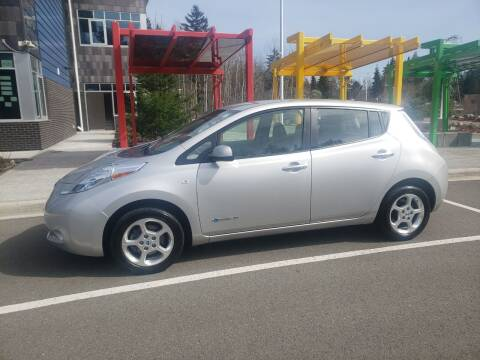 2011 Nissan LEAF for sale at Painlessautos.com in Bellevue WA