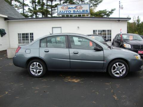 2004 Saturn Ion for sale at G and G AUTO SALES in Merrill WI
