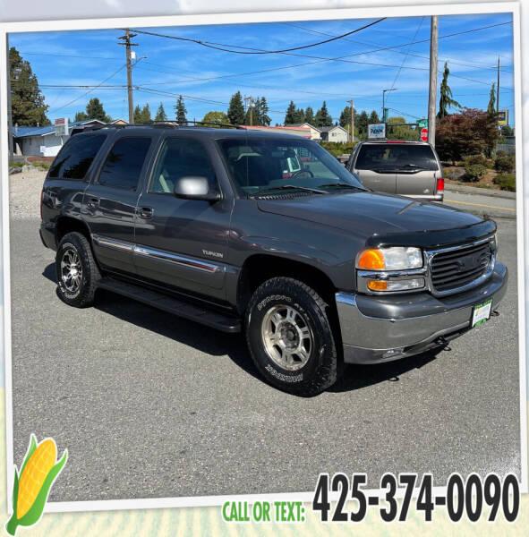 2002 GMC Yukon for sale at Corn Motors in Everett WA
