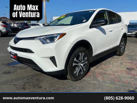 2018 Toyota RAV4 for sale at Auto Max of Ventura - Automax 3 in Ventura CA