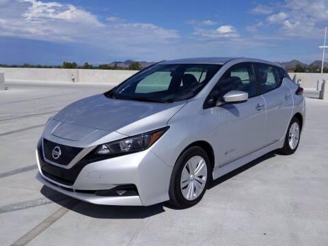 2019 Nissan LEAF for sale at Camelback Volkswagen Subaru in Phoenix AZ