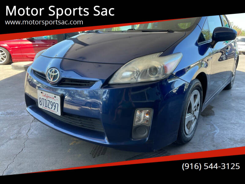 2011 Toyota Prius for sale at Motor Sports Sac in Sacramento CA