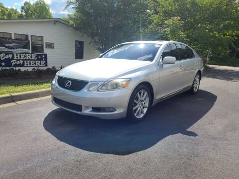 2006 Lexus GS 300 for sale at TR MOTORS in Gastonia NC